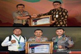 Kemenpan RB beri penghargaan Polresta Banjarmasin untuk predikat 'sangat baik' pelayanan SKCK dan SIM