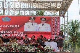Di Sulawesi Utara keluarga penerima manfaat PKH  berkurang 5.856