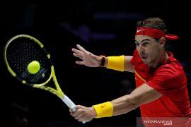 Tenis, Nadal antar Spanyol ke final Piala Davis