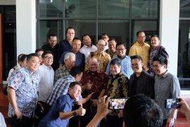 La Nyalla janji perkuat kolaborasi DPD dengan pengusaha daerah.