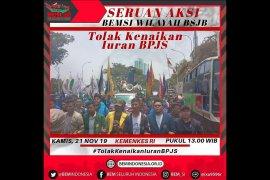 Siang ini, BEM seluruh Indonesia demo tolak kenaikan iuran BPJS