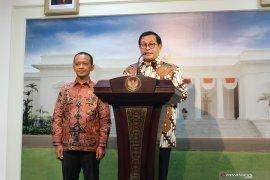 Presiden Jokowi akan umumkan 12 nama staf khusus
