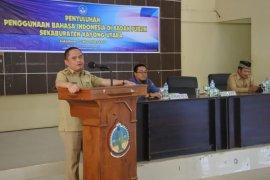Wabup Kayong Utara buka penyuluhan penggunaan bahasa Indonesia