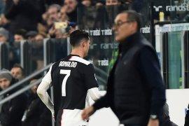 Maurizio Sarri ungkap alasan tidak akan mainkan Ronaldo kontra Atalanta