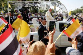 Bawa pesan anti nuklir, akhirnya Paus Fransiskus tiba di Jepang