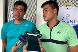 BNI Tennis Open - Susanto bersaudara juarai ganda putra dalam dua set langsung