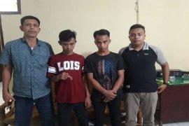 Dua pekerja bangunan miliki narkotika ditangkap Polisi Sei Bingai Binjai