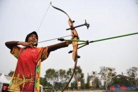 Sumut, Yogyakarta, dan Riau berbagi emas di panahan Popnas