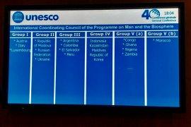 Indonesia jadi anggota Dewan Biosfer Dunia UNESCO periode 2019-2023