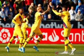 Hasil Liga Spanyol, Barcelona kesulitan tundukkan Leganes