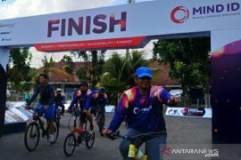 Fun bike meriahkan HUT ke-2 Holding Industri Pertambangan di Pulau Timah