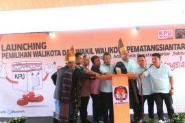 KPU launching Pilkada Pematangsiantar 2020