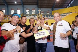 Medan juara umum Karate Tebing Tinggi Open 2019