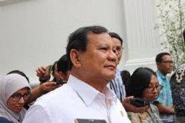 Menhan Prabowo Subianto peringatkan semua pihak tak terlibat rente di sektor pertahanan