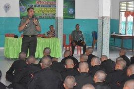 Dandim 0403 OKU pantau pembangunan karya bakti TNI