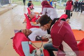 Donor darah HUT Aceh Timur kumpulkan 71 kantong