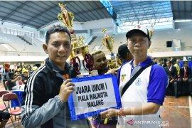 Forkab Malang pertahankan gelar juara karate Piala Wali Kota 2019