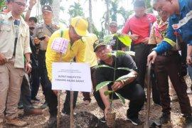 SKK Migas PetroChina gelar penanaman 10.000 kopi liberika di Sungai Terap