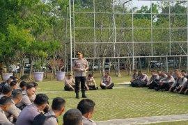 Personel pengamanan Pilkades Kabupaten Tangerang diedukasi Polda Banten