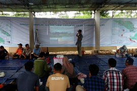 """Belasan desa di Lampung adakan """"temu karya satgas"""" konflik manusia dengan satwa"""