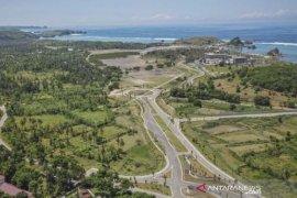 Pembangunan Sirkuit Mandalika NTB untuk kegiatan MotoGP 2021 sesuai target