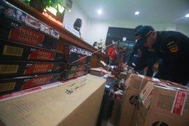 Tekan peredaran rokok ilegal, Bea Cukai Malang gelar Operasi Gempur