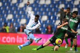 Liga Italia - Lazio menang lima kali beruntun, berkat gol menit terakhir Caicedo