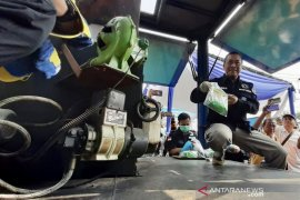 BNNP Jatim musnahkan barang bukti 5,26 kilogram sabu-sabu