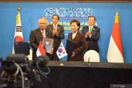 Menlu Retno Marsudi jelaskan poin bilateral Indonesia-Korsel untuk relokasi ibu kota
