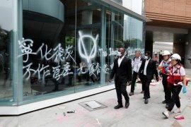 China peringatkan balas AS atas dukungan pemrotes Hong Kong