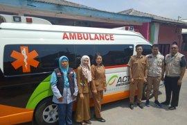 ACT berikan pelayanan kesehatan kepada warga di Provinsi Lampung