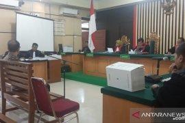 Terdakwa suap pengesahan APBD Jambi dituntut 30 bulan penjara