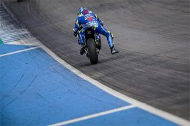 Suzuki raih hasil positif hari pertama tes  Jerez