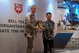Bell Textron dan PTDI rayakan pengiriman pesawat ke-70