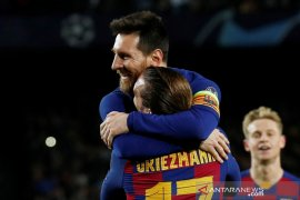 Barcelona melenggang di Liga Champions