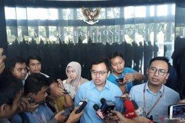 Uji materi revisi UU KPK tak diterima