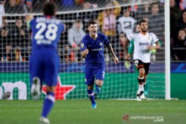 Liga Champions: Valencia vs Chelsea imbang 2-2, laga terakhir jadi penentuan