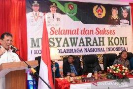 KONI Tapanuli Selatan gelar Musyorkab 2019-2023