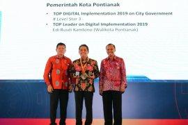 Top Digital Award 2019 Pontianak raih dua penghargaan