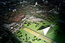 Peta Lidar solusi permasalahan drainase permukiman di Kota Surabaya