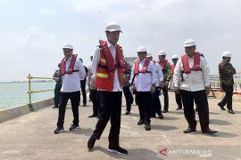 Presiden Jokowi: Perhatikan dampak sosial ekonomi Pelabuhan Patimban bagi nelayan