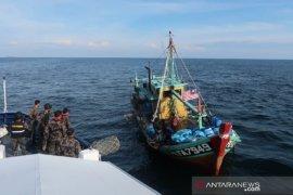 Kapal ikan berbendera Malaysia ditangkap