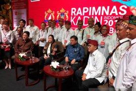 Di Bali, Rapimnas Kadin 2019 tetapkan program peningkatan ekonomi nasional