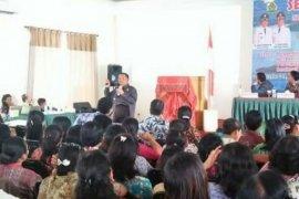 500 pelaku pendidikan di Samosir ikuti seminar kurikulum berbasis budaya
