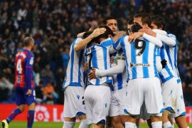 Sociedad kalahkan Eibar, Betis raih tiga poin dari Mallorca