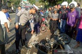 Korban tewas akibat tabrakan di Puncak tanpa identitas