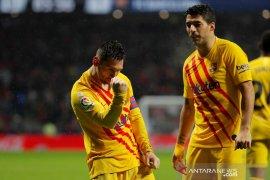 Messi bawa Barcelona kembali ke puncak klasemen