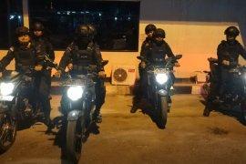 Ciptakan suasan kondusif, Satbrimob Polda Banten gelar patroli pascapilkades serentak
