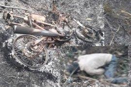 Petani ini ditemukan tewas di kebunnya yang terbakar