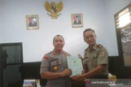 BPN serahkan sertifikat aset Polres Rejang Lebong